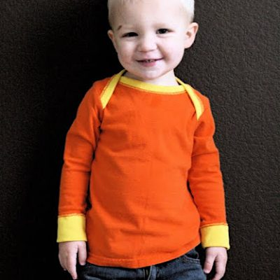 The 90-minute T-shirt - sewing tutorial for kids and babies from MADE Everyday with Dana