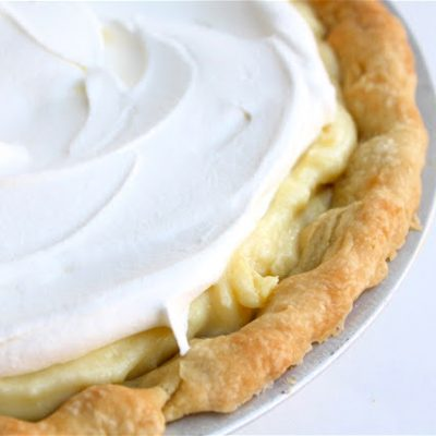Lemon Cream Pie recipe (with Never-Fail Pie Crust!) from MADE Everyday