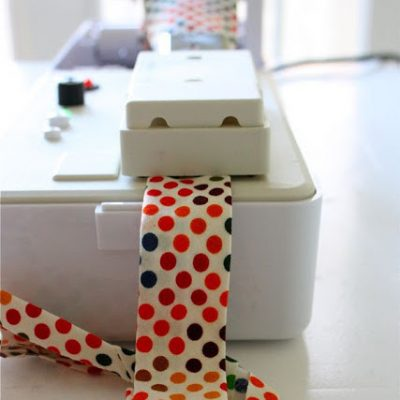 Using a Simplicity Bias Tape Maker machine from MADE Everyday