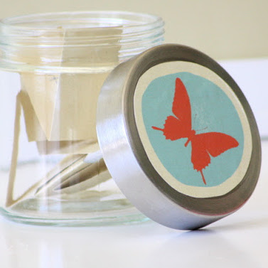 Great gift! Journal jars craft tutorial from MADE Everyday