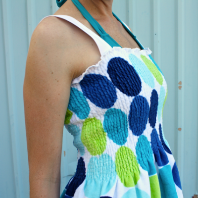 Beach Towel Dress tutorial from MADE Everyday