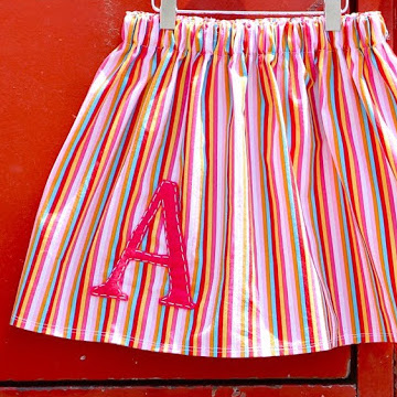 monogram sewing tutorial from MADE Everyday