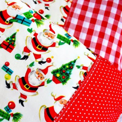 christmas pillowcases from MADE Everyday