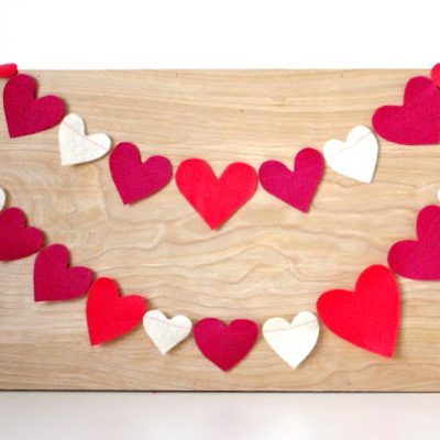 Happy Heart Garland sewing tutorial
