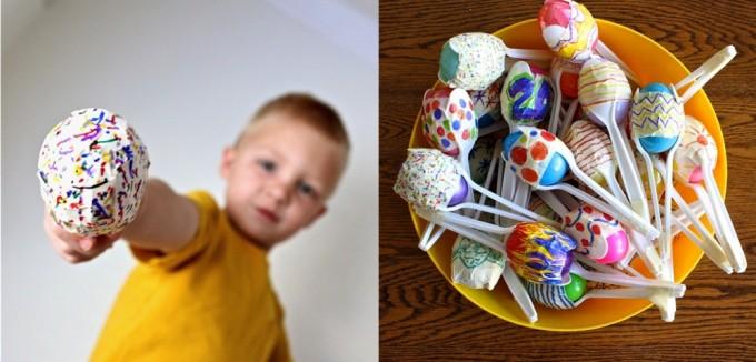 Яйцо из ложки своими руками 730