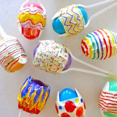 Easter Egg Maracas - Cinco de Mayo project & tutorial