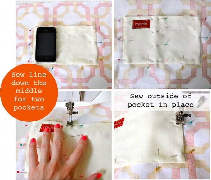 Basic Pocket TOTE – MADE EVERYDAY