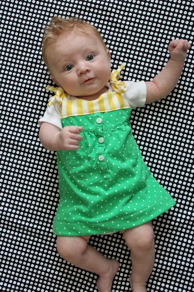 tuto robe bébé facile