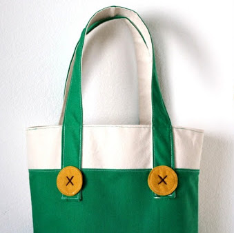 Sew a tote bag and mini quilt for Corduroy
