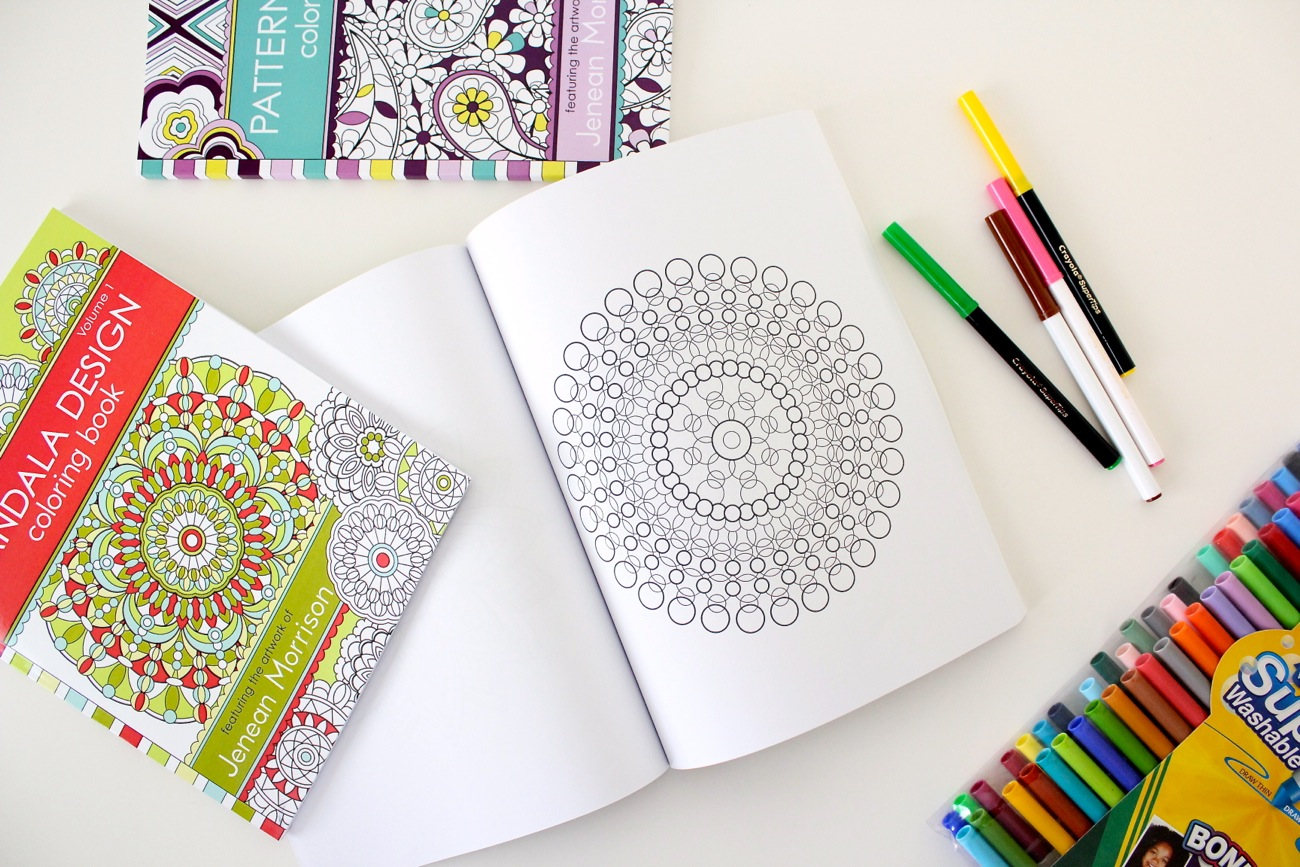 A1 Pattern Design Coloring Book Volume 2 And Mandala