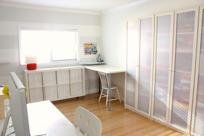 First Home Tour The Sewing Room Makeover Before And