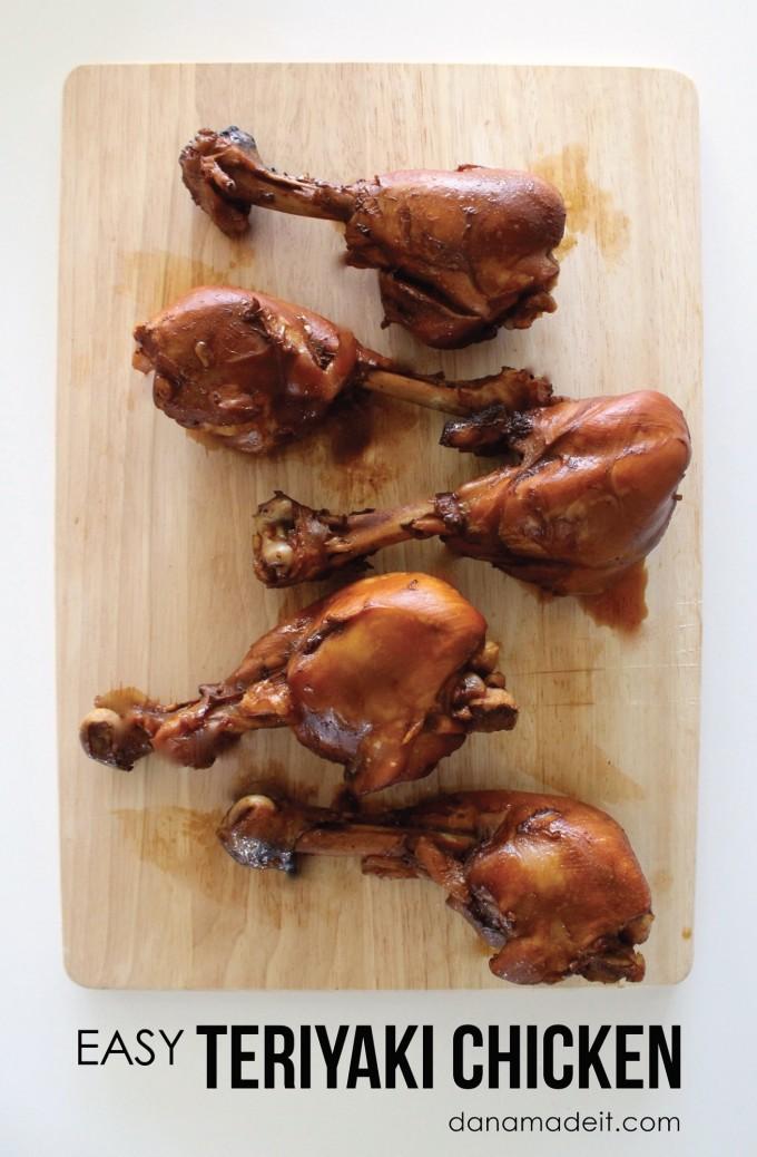 EASY Teriyaki Chicken on MADE