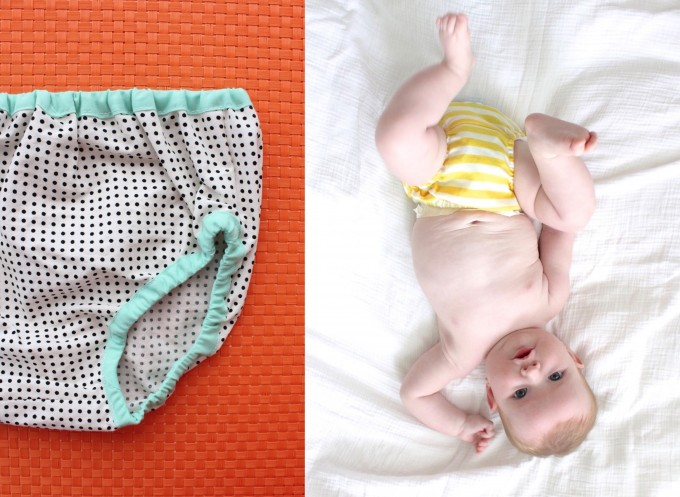 the Perfect Diaper and Nappy Cover tutorial by MADE