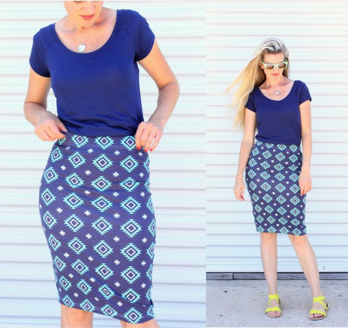 simple pencil skirt tutorial