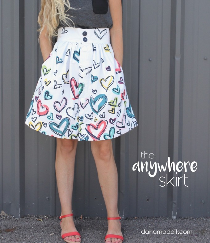 the Anywhere Skirt Pattern by MADE