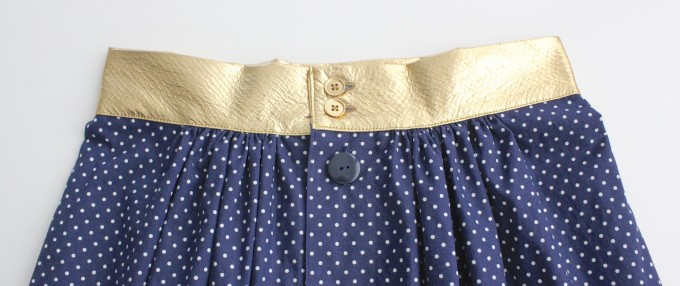 the Anywhere Skirt Pattern with waistband options