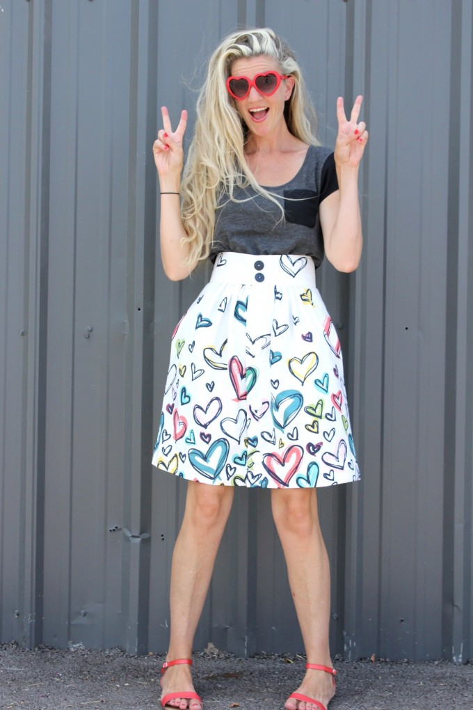 the Anywhere Skirt pdf Pattern by MADE