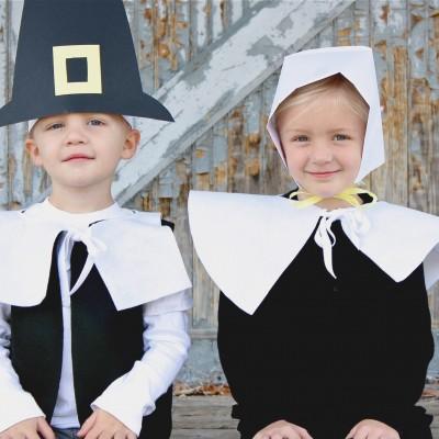 Pretend Pilgrim costumes on MADE
