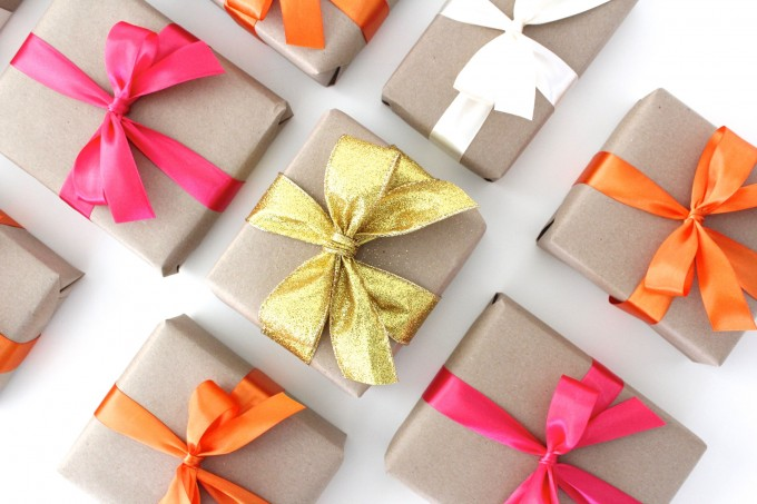 How to tie the PERFET BOW on a gift