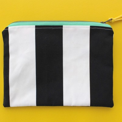 zipper pouches on MADE