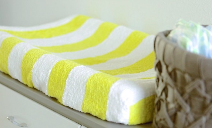 How to make a Diaper Changing Pad Cover video on MADE