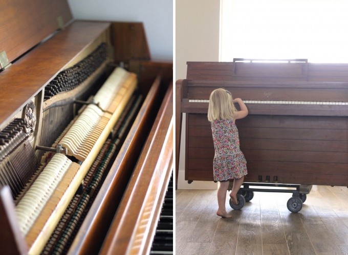 Piano in MADE house