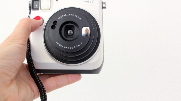 How to take a selfie on Fujifilm Instax