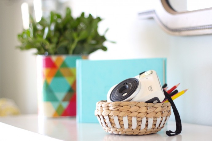 Instax camera by Fujifilm