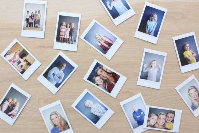 instant photos with Instax