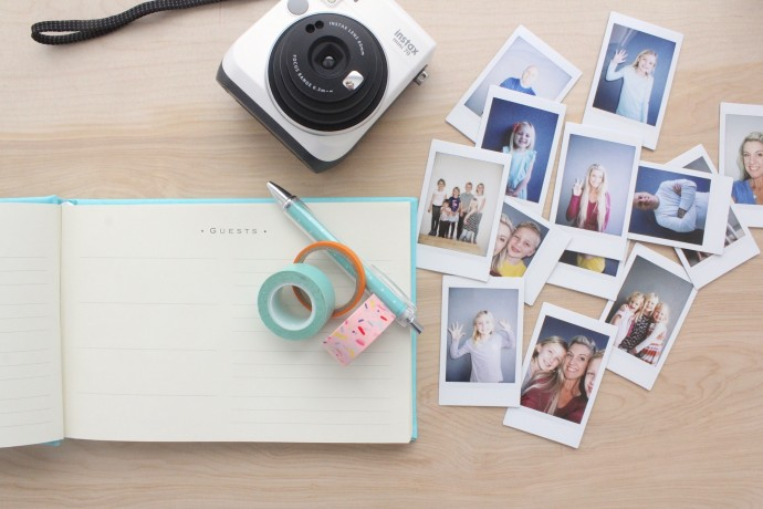 use Instax for your Guest Book