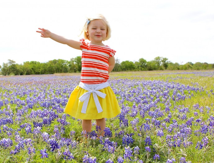 Blue Bonnets in Texas on MADE Everyday with Dana Willard