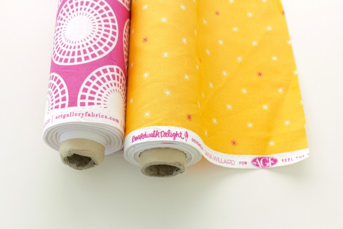 Boardwalk Delight fabric collection by Dana Willard Ferris Wheel and Twinkle Lights