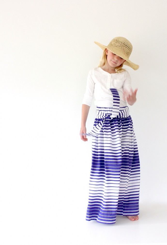 Maxi Skirt with a Sash on MADE Everyday