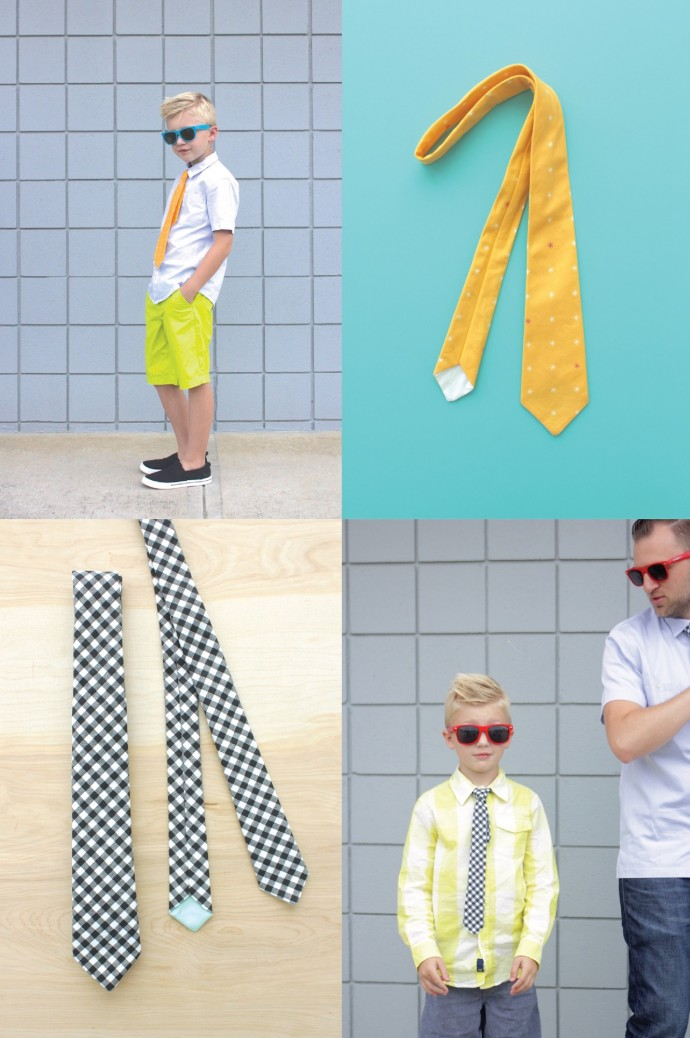 Everyday Necktie Pattern by Dana Willard on MADE Everyday 3