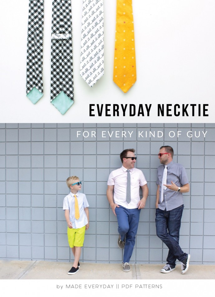 Everyday Necktie Pattern by Dana Willard on MADE Everyday 4
