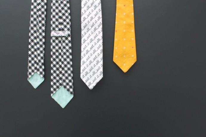 Everyday Necktie Pattern by Dana Willard on MADE Everyday 8
