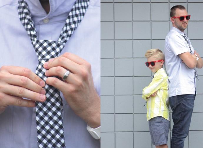 Everyday Necktie Pattern on MADE Everyday by Dana Willard