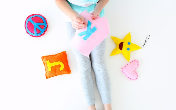 How to hand sew for kids and adults on MADE Everyday with Dana Willard