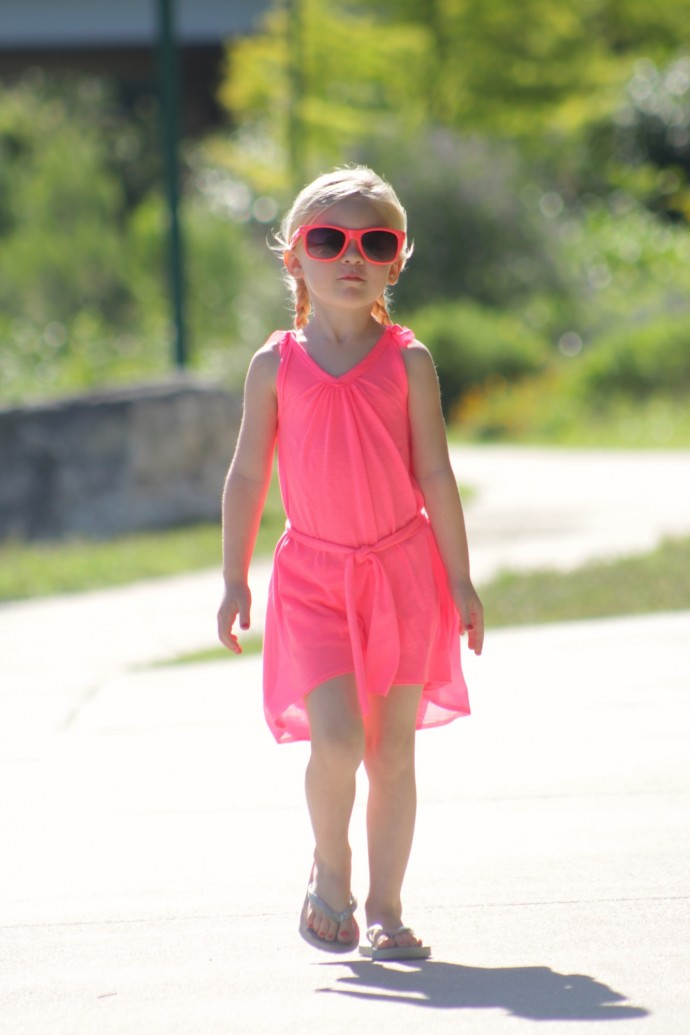 Neon Summer Dress by Dana Willard on MADE Everyday 7