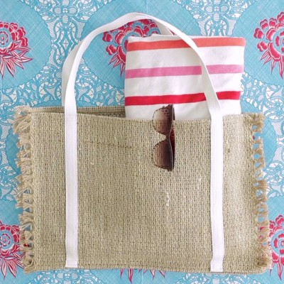 How to Make a Beach Bag from a Placemat on MADE Everyday with Dana Willard