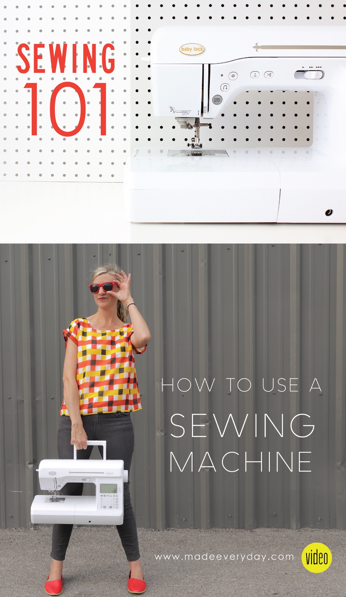 how to sew using a sewing machine