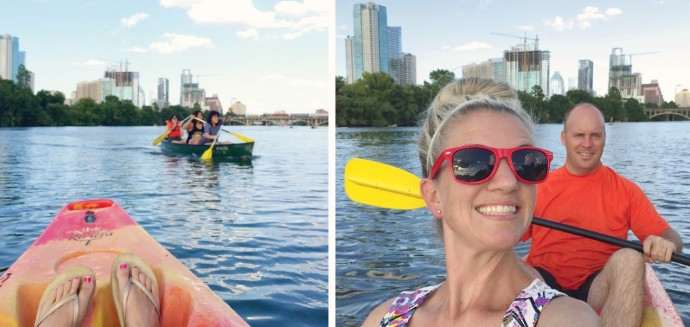 Swimming in Texas on Made Everyday with Dana Willard 6