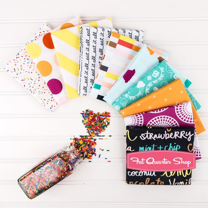 Boardwalk Delight Fabric collection by Dana Willard of MADE Everyday sold at the Fat Quarter Shop