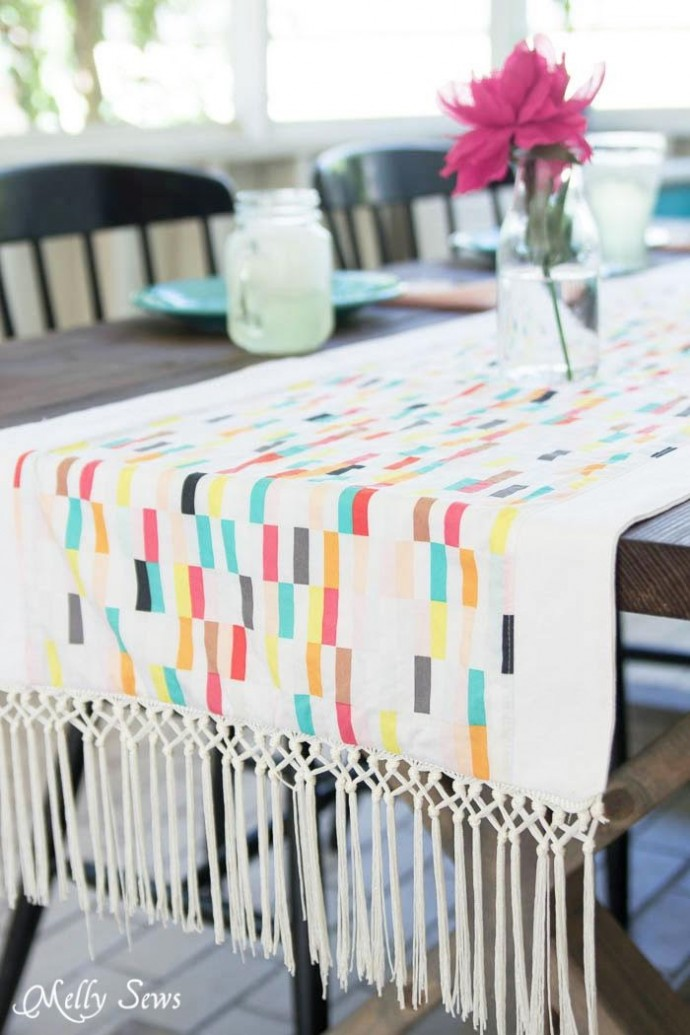 Boardwalk Delight Table Runner by Melly Sews