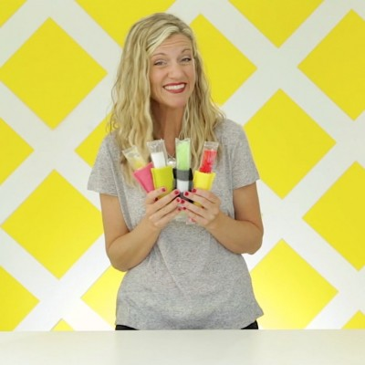 How to make a popsicle cozy video on MADE Everyday with Dana Willard