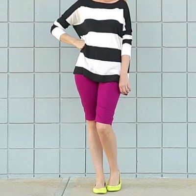How to turn Pants into short and how to hem pants and shorts on MADE Everyday with Dana Willard