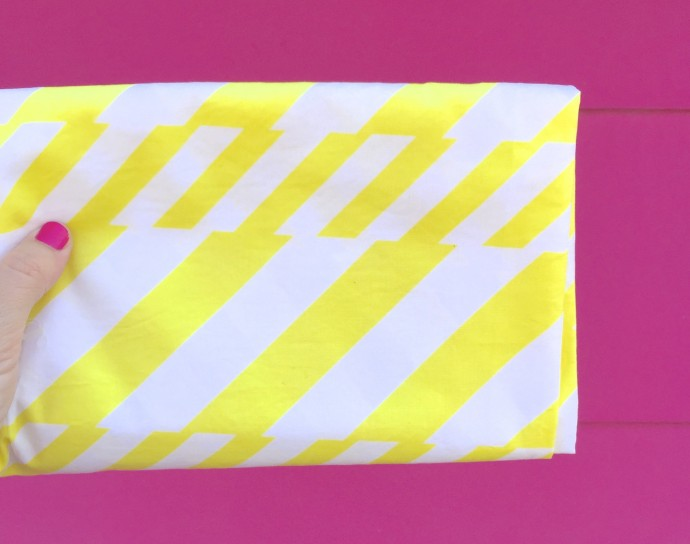 Soda Straws fabric from Boardwalk Delight on MADE Everyday with Dana Willard