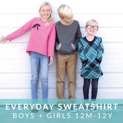 Everyday Sweatshirt pattern from MADE Everyday