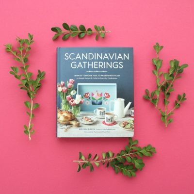 Scandinavian Gatherings book by Melissan Bahen on MADE Everyday