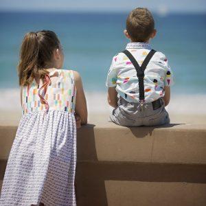 Boardwalk Delight fabric collection designed by Dana Willard for Art Gallery Fabrics - apparel by My Sweet Sunshine Studio